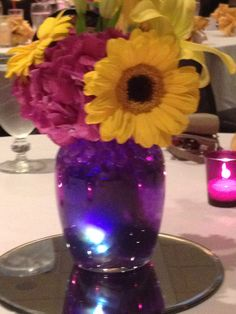 One of the lovely centerpieces at my cousin Kari's wedding reception. *Amanda Gard (Mandi Gard's) photography*