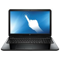 """HP 15 15.6"""" Touchscreen Laptop - Black (AMD Quad-Core A6-6310/500GB HDD/8GB RAM/Windows 8.1) I really new a new one and this is a great product #SetMeUpBBY"""