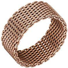 "Dreambase Damen-Ring ""Milanaise"" rotvergoldet Silber 48 (... https://www.amazon.de/dp/B01IO7F4E2/?m=A37R2BYHN7XPNV"