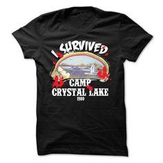 I Survived Camp Crystal Lake 1980 T Shirt, Hoodie, Tee Shirts ==► Shopping Now!