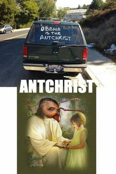 The Antchrist. Repent or lose your sandwiches forever.