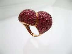 Red heart by CATARINOjewels on Etsy, €11850.00