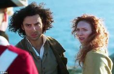 Trouble ahead: Ross Poldark (Aidan Turner) and Demelza's (Eleanor Tomlinson) life together is thrown into turmoil as the first series of Poldark concludes