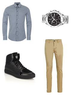 """""""My Future Husband"""" by schlabach-shelly ❤ liked on Polyvore featuring Topman, Dolce&Gabbana, Versace, TAG Heuer, men's fashion and menswear"""