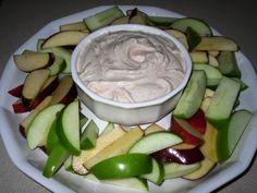 Apples with Greek yogurt dip | awesomelikeadrienne