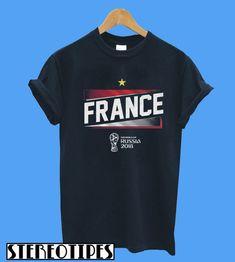 FIFA World Cup Russia 2018 France T-Shirt b9e608ea2