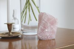 5 Ways to Supercharge Your Home's Vibe Using Crystals   Rose Quartz for Romance