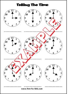 worksheet containing 9 analogue clocks showing o 39 clock half past quarter to and quarter past. Black Bedroom Furniture Sets. Home Design Ideas
