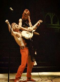 Ozzy and Randy Rhoads
