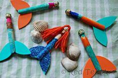 mermaid clothespeg
