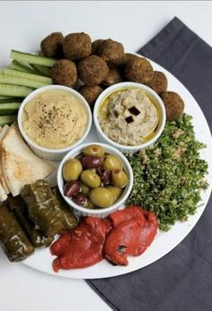 Tapas, Lebanese Recipes, Greek Recipes, Vegetarian Recipes, Cooking Recipes, Healthy Recipes, Comida Armenia, Fingers Food, Greek Dinners