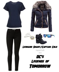 Leonard Snart/Captain Cold Inspired Outfit from DC's Legends of Tomorrow  ***I do not own these images***