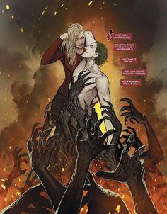 Harley And Joker Love, Joker And Harley Quinn, Joker Dc Comics, Harely Quinn, Superman Movies, Comic Book Characters, Fictional Characters, Comics Online, 3 Online