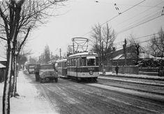 Bucharest, Socialism, Old City, Public Transport, Vintage Photos, Transportation, Snow, Architecture, Outdoor