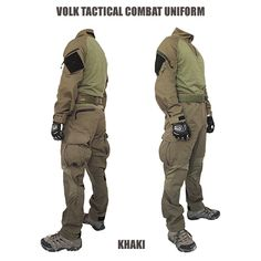 [ VOLK TACTICAL COMBAT UNIFORM ] *limited in production Outfit set with a tactical combat shirt and …