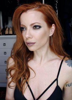 Julia Petit - Petiscos - maquiagem em tons de chumbo  usada no programa Esquenta