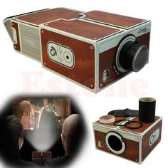 Cardboard Smartphone Projector DIY Portable Mobile Phone mini Cinema Theater For iphone 6 plus New Mobile Phones, Newest Cell Phones, Best Cell Phone, New Phones, Phone Projector, Diy Projector For Iphone, Old Phone, Portable, Consumer Electronics