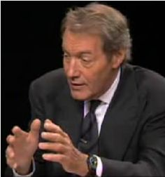 Charlie Rose = Sanity. A reporter I've come to equate with fairness.  He's interested in everything, as his guests and interviews show