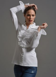The Shirt Company: the perfect white shirt for women | Sharp ...