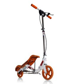Take a look at this Orange Rockboard Original Scooter by Rockboard Scooters on @zulily today!