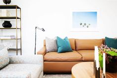 A unique wall art print from Minted.com will add a special touch to your home decor.  Image courtesy of Lisa Gutow Design.