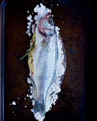 This easy, foolproof recipe from chef and fish expert Dave Pasternack makes a moist and perfectly salt-baked fish every time.