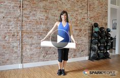 How to Use a Foam Roller Video