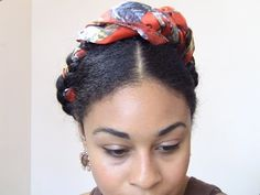 """Frida Kahlo Inspired Crown Braid – An """"Artistic"""" Protective Style http://www.blackhairinformation.com/general-articles/hairstyles-general-articles/frida-kahlo-inspired-crown-braid-artistic-protective-style/"""