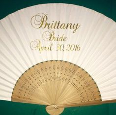 Personalized Wedding Favors Favours Fans Superior Quality Uk