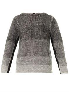 Plaited dégradé knit sweater | Helmut Lang | MATCHESFASHION.COM