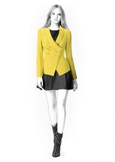 Jacket - Sewing Pattern #4303 - Lekala Patterns