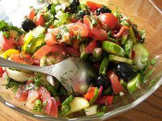 Yulinka Cooks: Russian Chopped Salad