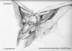 Allen Williams Studio - Kaiju Design for Pacific Rim