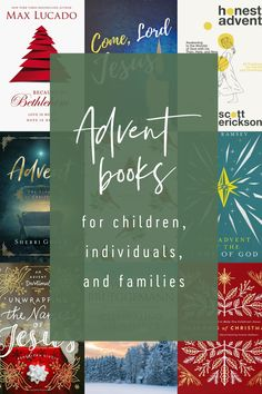 Save this list! Advent books (and devotionals and Bible Studies) for all ages.