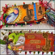 The Fourth Day of Christmas: Four Calling Birds Mini-Envelope Book by Kira Nichols!