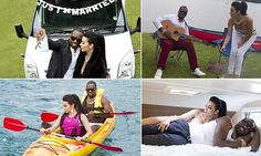The honeymoon of the year for Kimye! Or is it..?