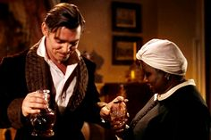 """'Gone With The Wind' starring Clark Gable and Hattie McDaniel. """"Have a drink with me Mammy. Go To Movies, Great Movies, About Time Movie, All About Time, Wind Movie, Hattie Mcdaniel, Rhett Butler, Tomorrow Is Another Day, Movies"""