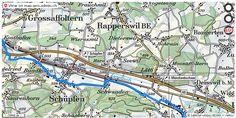 Rapperswil Be Velowege Fahrrad Velotour Mobil Routenplaner