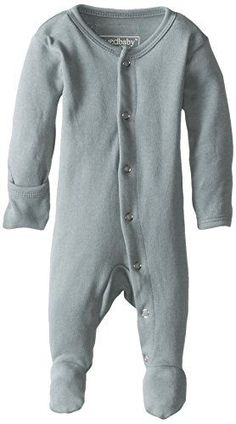 L'ovedbaby Unisex-Baby Newborn (up to 7 lbs.) Organic Gl'Oved-Sleeve Overall, Seafoam, New Born L'ovedbaby, bestselling baby clothes on Amazon.com #AmazonPrime