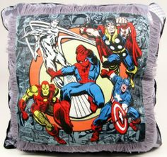 Marvel Comics Decorative Pillow by Marvel $22.95