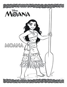 Moana With A Shell