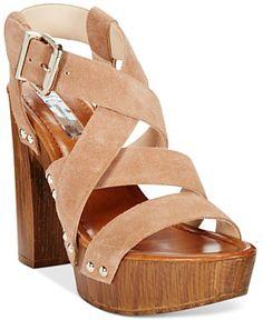 3f6d4fc43e5878 Macy s Spring Shoes  amp  Accessories Fashion Guide. NC International  Concepts Camira Platform Dress Sandals
