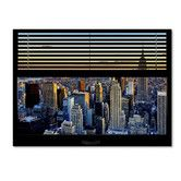 Found it at Wayfair - 'Window View NYC Sunset 1' by Philippe Hugonnard Photographic Print on Wrapped Canvas