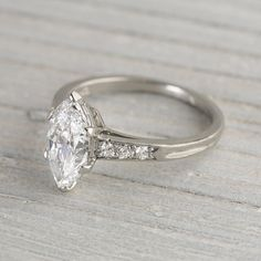 1.4 Carat Vintage Tiffany & Co. Marquise Engagement Ring from the 1920s....It will do ;-)