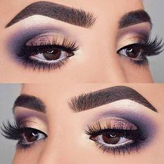 Gorgeous Makeup: Tips and Tricks With Eye Makeup and Eyeshadow – Makeup Design Ideas Fall Eye Makeup, Fall Makeup Looks, Eyeshadow Makeup, Purple Eyeshadow, Eyeshadows, Makeup Brushes, Beautiful Eye Makeup, Flawless Makeup, Cute Makeup