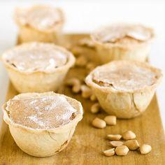 Receita de Pastéis de amendoim | :: as melhores receitas de sobremesas de leonor de sousa bastos | flagrante delícia ::