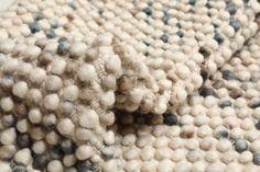 Big Drop - Grå / Beige Mix 120x180 - CarpetVista Merino Wool Blanket, Drop, India, Beige, Goa India, Ash Beige, Beige Colour