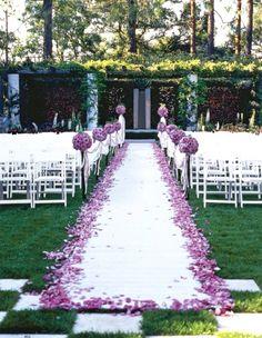 50 Best Garden Wedding Aisle Decorations Garden Wedding