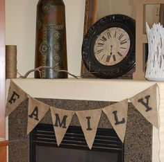 Want to DIY this burlap banner