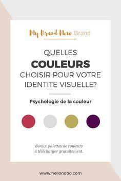 Quelles couleurs choisir pour votre identite visuelle?